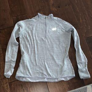 Grey Nike 3/4 Zip